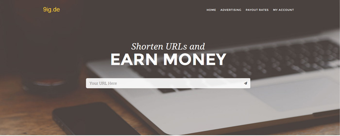 Shorten URL and Earn Money