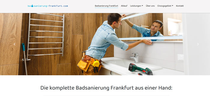 Badsanierung Frankfurt